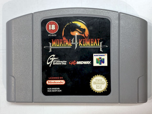 Game | Nintendo 64 N64 | Mortal Kombat 4