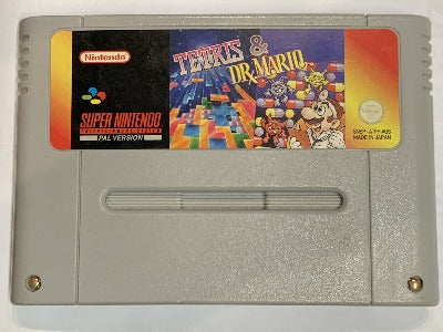 Game | Nintendo SNES | Tetris And Dr Mario