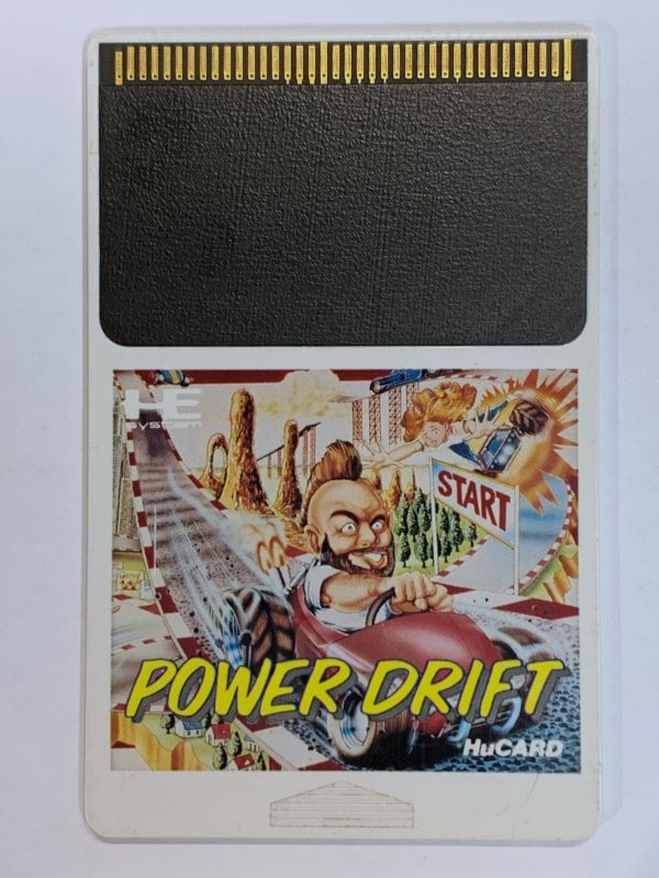Game | PC Engine | Hu Card Power Drift