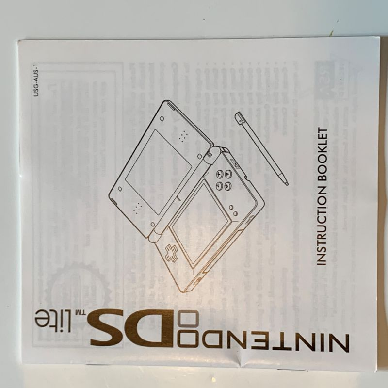 Manual | Nintendo DS | Replacement Instruction Manuals Book