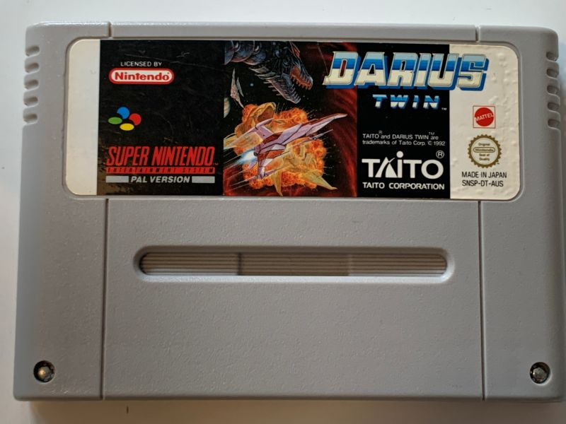 Game | Super Nintendo SNES | Darius Twin