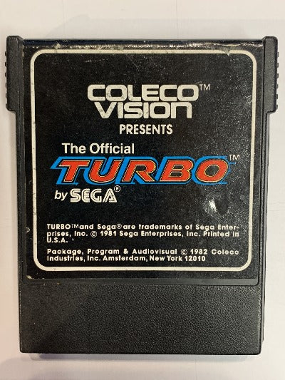 Game | CBS ColecoVision | Turbo