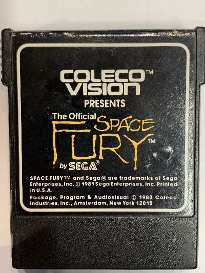 Game | CBS ColecoVision | Space Fury