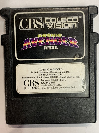 Game | CBS ColecoVision | Cosmic Avenger Universal Edition