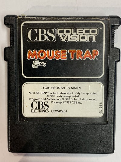 Game | CBS ColecoVision | Mouse Trap