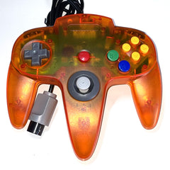 Controller | Nintendo 64 | N64 Controller Aftermarket Funtastic Clear