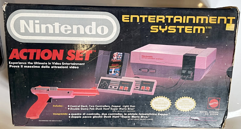 Console | Nintendo NES | Action Set Boxed Original