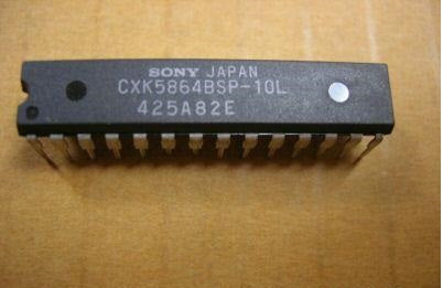 Parts | Modding |  Sony CXK5864BSP-10L CXK5864BSP-12L Neo Geo AES MVS Palette RAM Colour Screen Fix