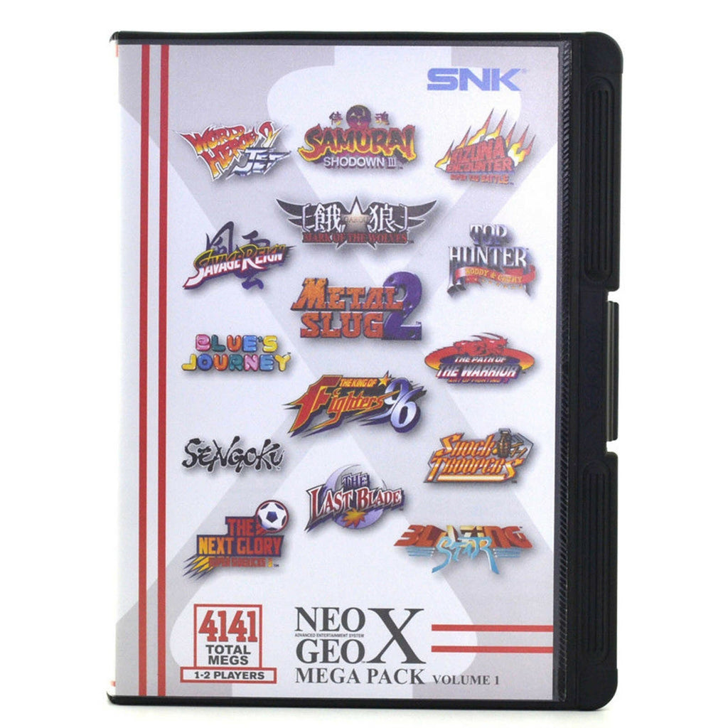 Game | NEO GEO X Mega Pack Vol 1 New Sealed