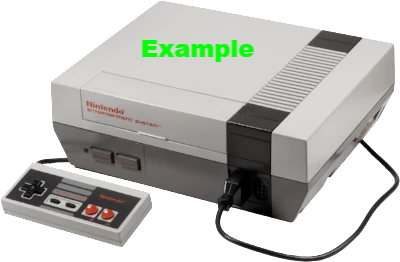 Console | Nintendo Entertainment System NES Original