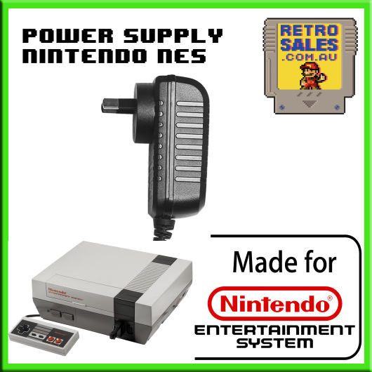 Accessory | Power Supply | Nintendo NES Power Supply Adapter Pack NES-002E