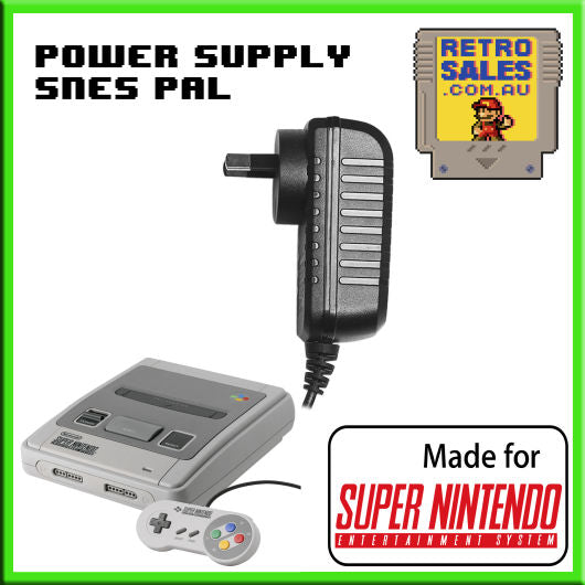 Accessory | Power Supply | Super Nintendo SNES | Power Supply Adapter Pack NES-002E