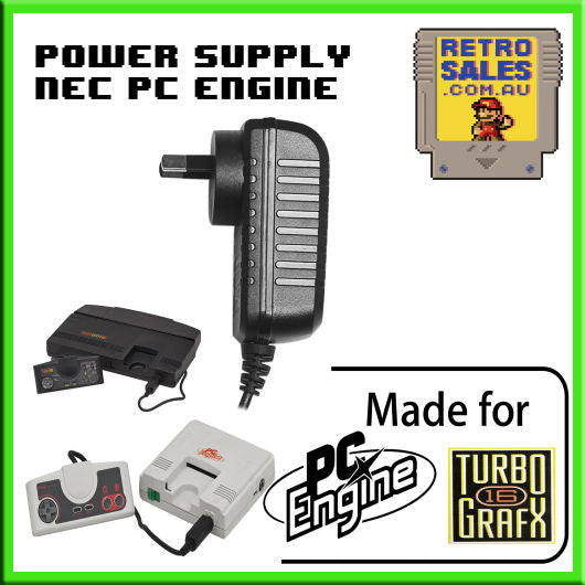 Accessory | Power Supply | PC Engine TurboGrafx 16 | Power Supply Adapter Pack HES-ACA-01 PAD-105