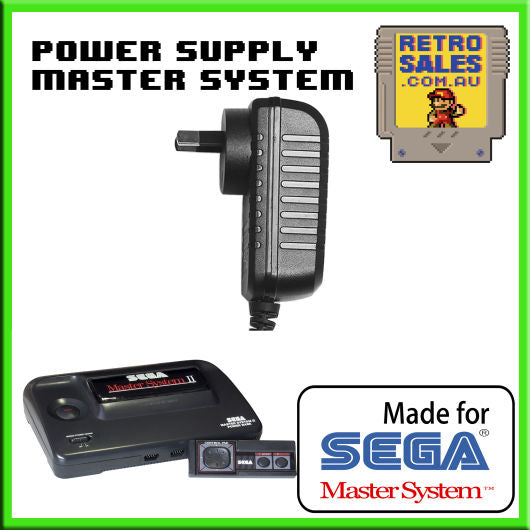 Accessory | Power Supply | SEGA Master System II 2 | Power Supply Adapter Pack 3025