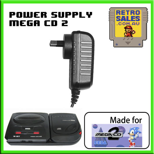 Accessory | Power Supply | SEGA Mega CD 2 | Power Supply Adapter Pack