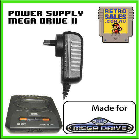 Accessory | Power Supply | SEGA Mega Drive 2 | Genesis 2 | Power Supply Adapter Pack