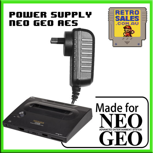 Accessory | Power Supply | SNK Neo Geo AES | Power Supply Adapter PRO POW POW2 POW3