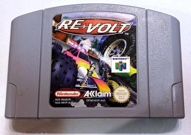 Game | Nintendo 64 N64 | Re Volt Revolt