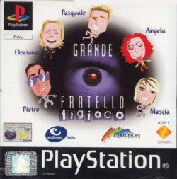 Game | Sony Playstation PS1 | Grande Fratello: Il Gioco
