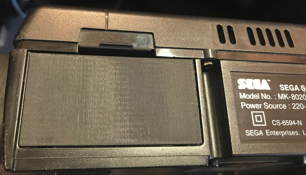 Parts | 3D Printed | SEGA Saturn | Replacement Rear Battery Door Cover