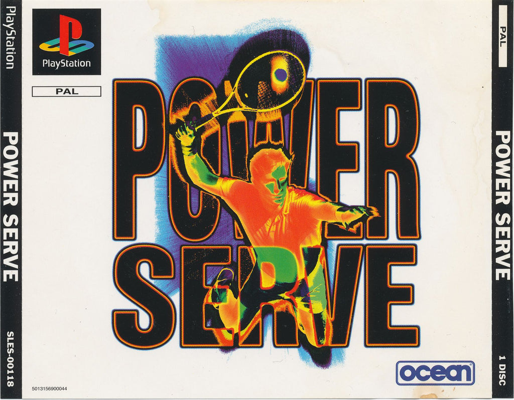 Game | Sony Playstation PS1 | Power Serve