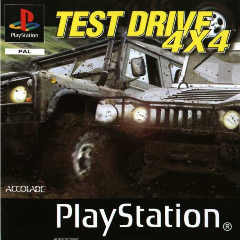 Game | Sony Playstation PS1 | Test Drive 4x4