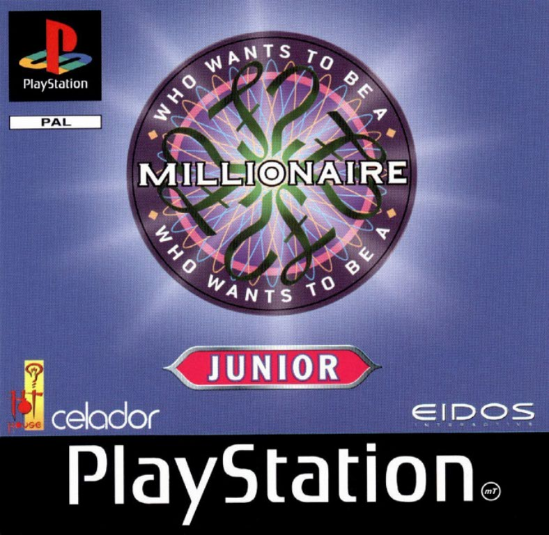 Game | Sony Playstation PS1 | Who Wants To Be A Millionaire Junior