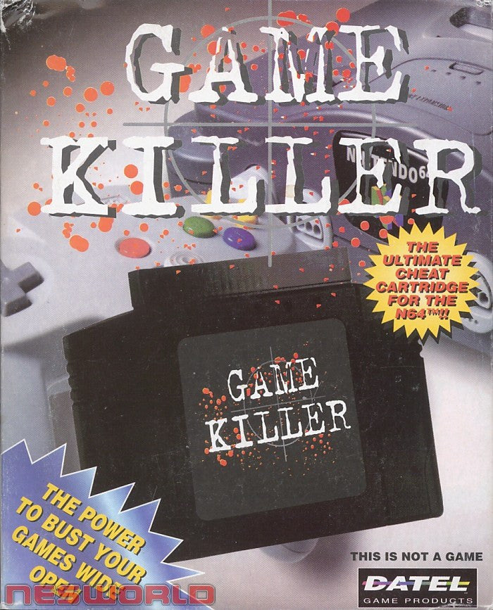 Accessory | Nintendo 64 | Game Killer Cheat Save Game Cart