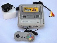 Console | Nintendo Super Famicom SFC with game