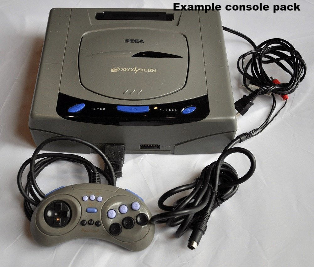 Console | SEGA Saturn Japanese Grey White Boxed NTSC-J