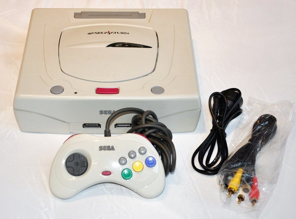 Console | SEGA Saturn Japanese Grey White Boxed NTSC-J - retrosales.com.au - 2