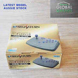 Sega Saturn Grey Virtua Stick Joystick Controller Boxed HSS-0104 - retrosales.com.au - 1