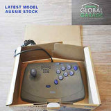 Sega Saturn Grey Virtua Stick Joystick Controller Boxed HSS-0104 - retrosales.com.au - 2