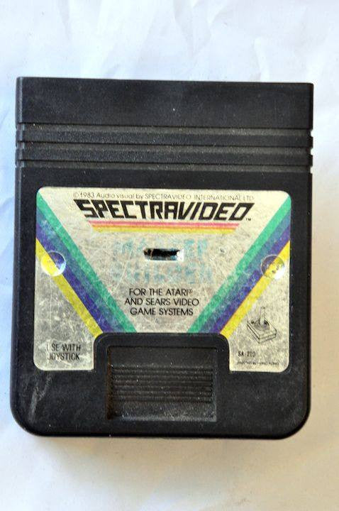 Game | Atari 2600 | Master Builder Spectravideo