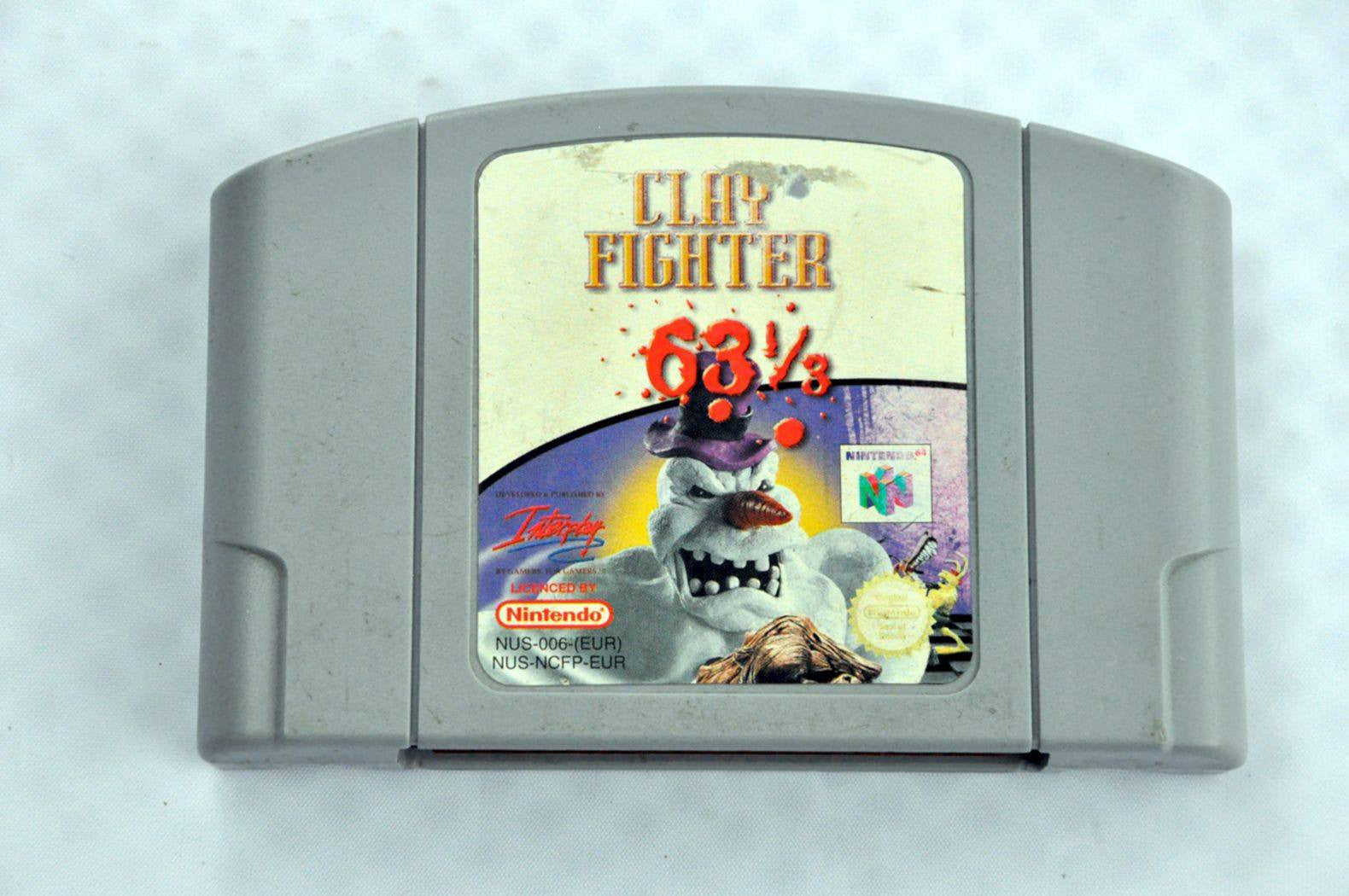 Game - Game | Nintendo 64 N64 | Clay Fighter 63 1/3