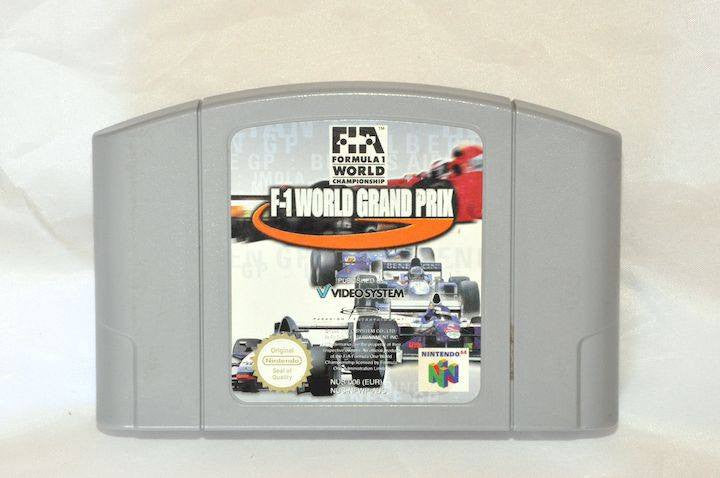 Game | Nintendo 64 N64 | F1 World Grand Prix F-1 PAL