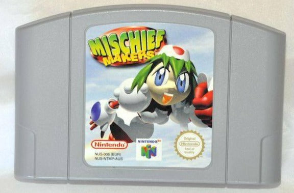 Game | Nintendo 64 N64 | Mischief Makers