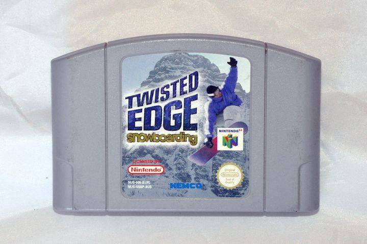Game - Game | Nintendo 64 N64 | Twisted Edge Snowboarding