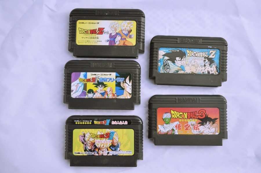 Game | Nintendo Famicom | Bundle Dragon Ball Z x 5