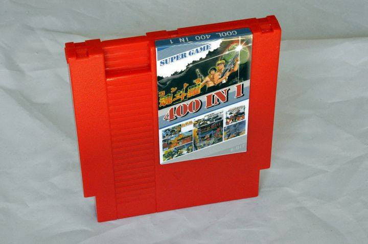 Game | Nintendo NES | 400 in 1 Cart Aftermarket