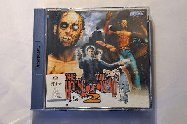 Game | SEGA Dreamcast | House Of The Dead 2 Complete CIB