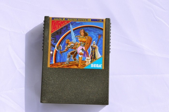 Game | SEGA Mark III Phantasy Star Gold FM G-1341 - retrosales.com.au - 1