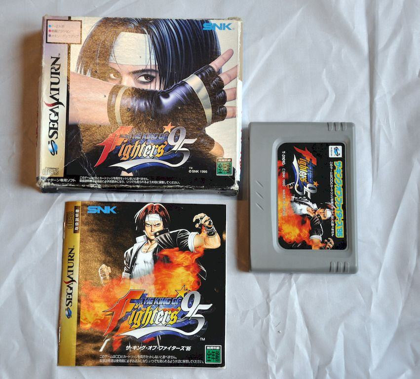Game - Game | Sega Saturn | The King Of Fighters 95 Boxed RAM Cart