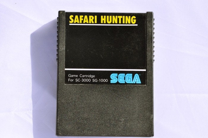 Game | SEGA SG-1000 Safari Hunting G-1002