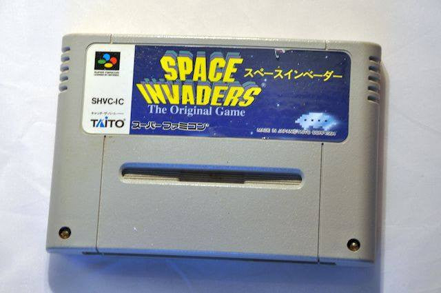 Game | Super Nintendo Famicom SNES | Space Invaders NTSC-J