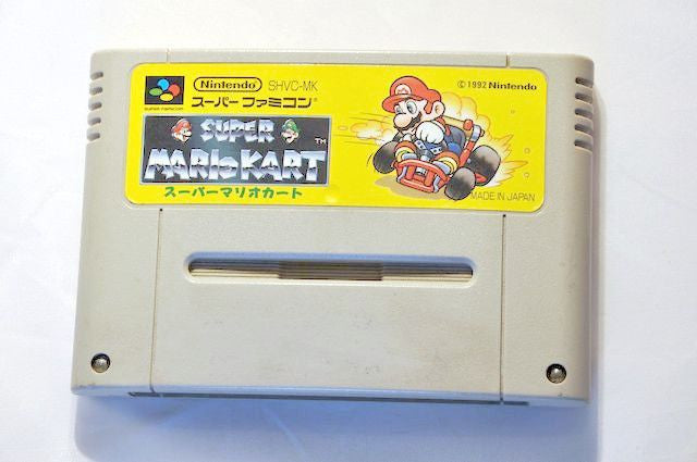 Game - Game | Super Nintendo Famicom SNES | Super Mario Kart NTSC-J