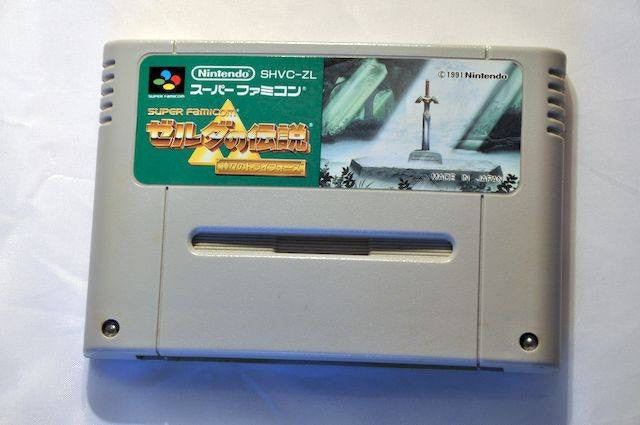 Game | Super Nintendo Famicom SNES | The Legend Of Zelda Link To The Past NTSC-J