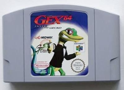Game | Nintendo 64 N64 | Gex 64