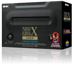 Console | Neo Geo X Gold Limited Edition Console New Sealed
