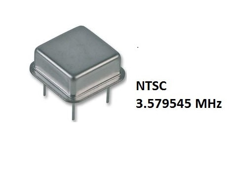 Parts | Modding | Crystal Oscillator 4.433MHz PAL 3.579 NTSC Colour 5V 4pin XTal